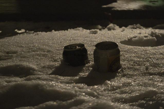 何がなんでもキャンプだし すげのレジャー 冬キャンプ グルキャン 雪 都留市 道坂峠 モビリティーパーク 路面凍結 醍醐味 甥姪