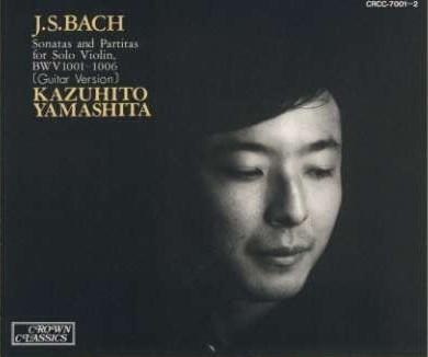 Bach_Sonata and Partita_YamashitaKazuhito