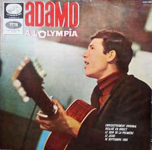 Salvatore Adamo _A L olympia 1965