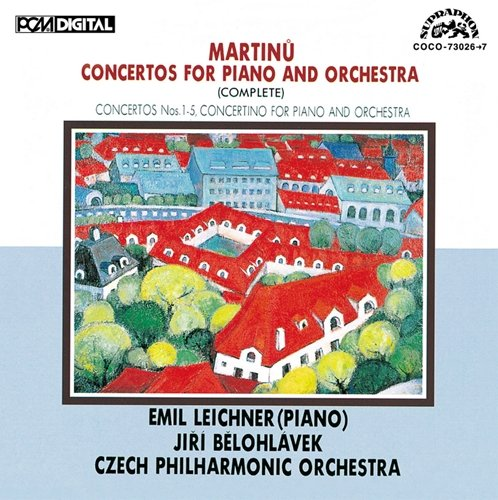 Martinu_Concertos for Piano and Orchestra_Leichner_CzechPhil
