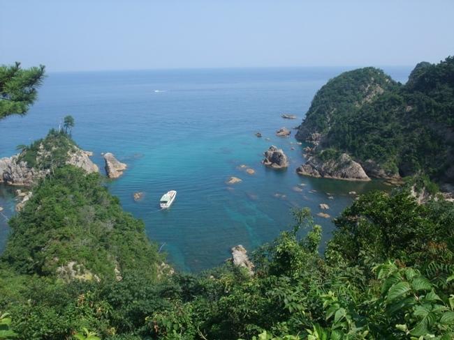 山陰・鳥取の海の景色 (1)