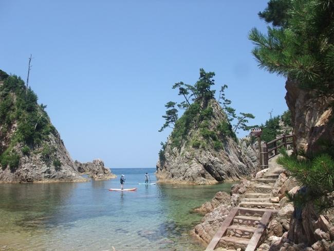 山陰・鳥取の海の景色 (2)