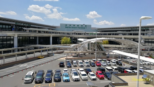 成田空港へのお迎えと久しぶりの再会