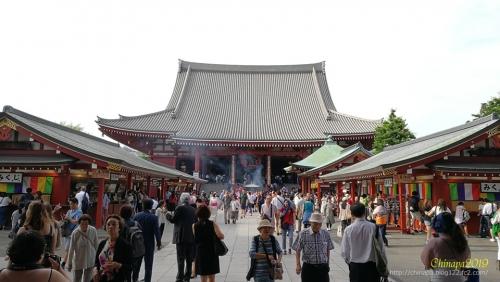 定番の浅草寺とまぜ焼き居酒屋 肉ふじ