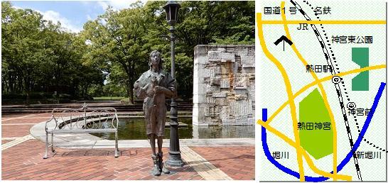 神宮東マップ