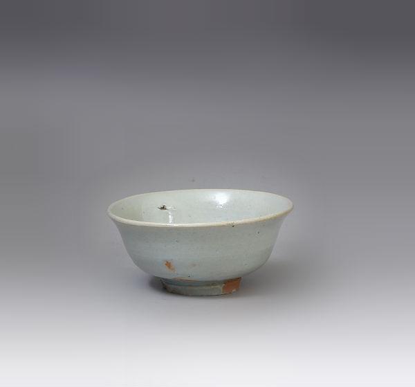 李朝初期白磁小碗