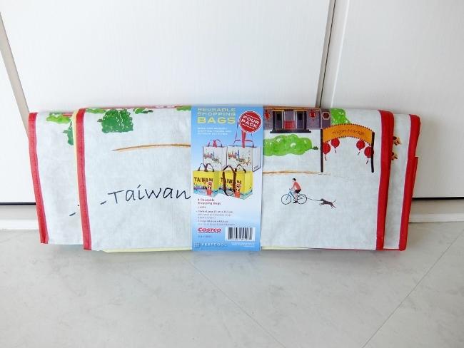 コストコ ◆ コストコ バッグ TW 台湾 4PK 598円也 ◆