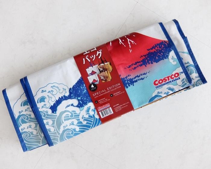 コストコ ◆ コストコ エコバッグ JP 4PK 598円也 ◆