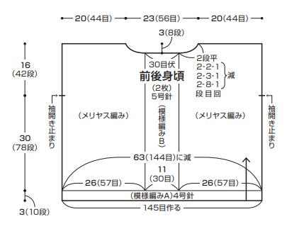 1942フラックスKアムユーズAMU-562編み図