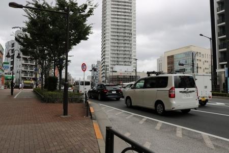 JR東中野駅・西口