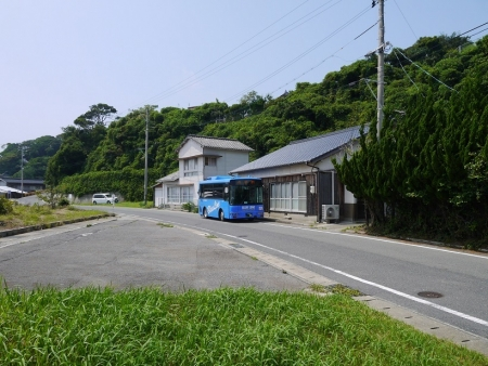 バス停「尾山憩の家」