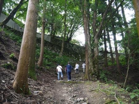 津和野城跡(2)