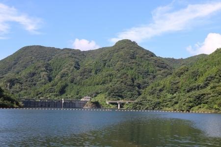 萱瀬ダム湖(1)