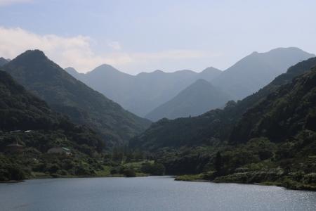 萱瀬ダム湖(2)