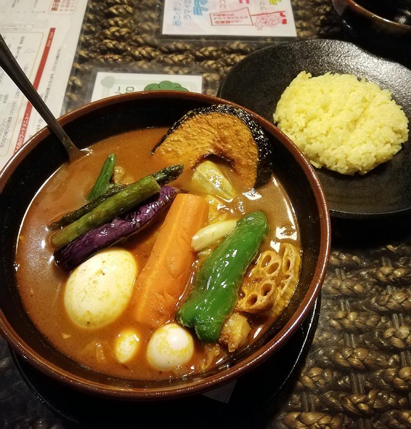 アジアンバーラマイあびこ(大阪)スープカレー