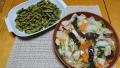 八宝菜 枝豆の蒸し焼き 20190815