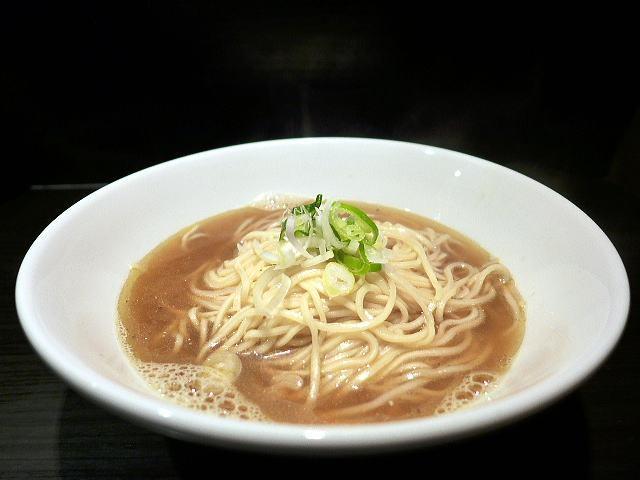 自家製麺 伊藤 銀座店@01中華そば 小(ネギのみ) 1