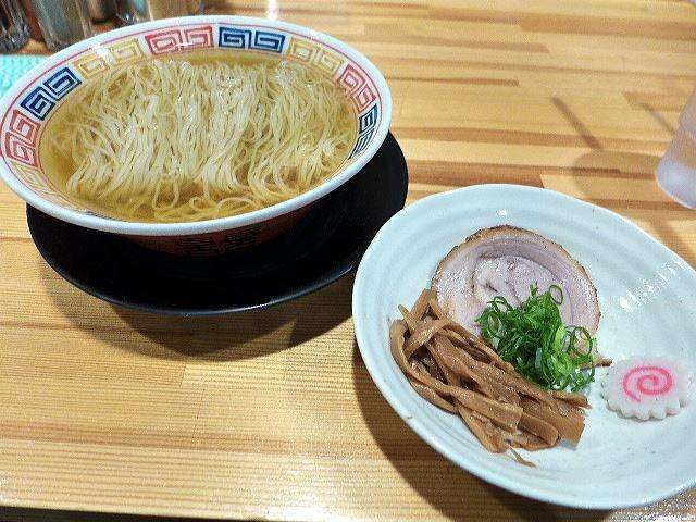 麺や 清流@22猫舌中華そば 1