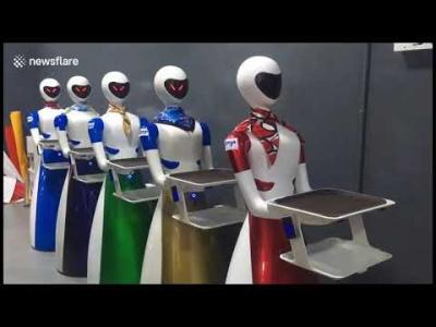 【苦笑】ロボットがやる意味ある?