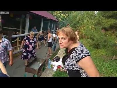 【苦笑】ロシア・・・メチャクチャな結婚式・・・