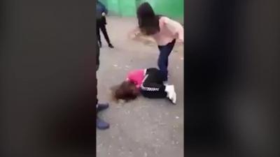 【Fight!】女子のイジメ?・・・もっと早く止めてやれよ・・・
