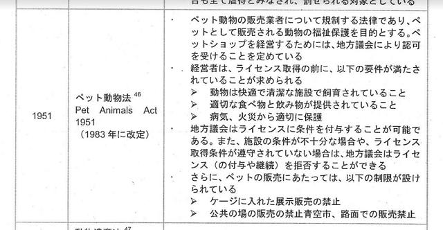 武井泉 ペット動物法 1