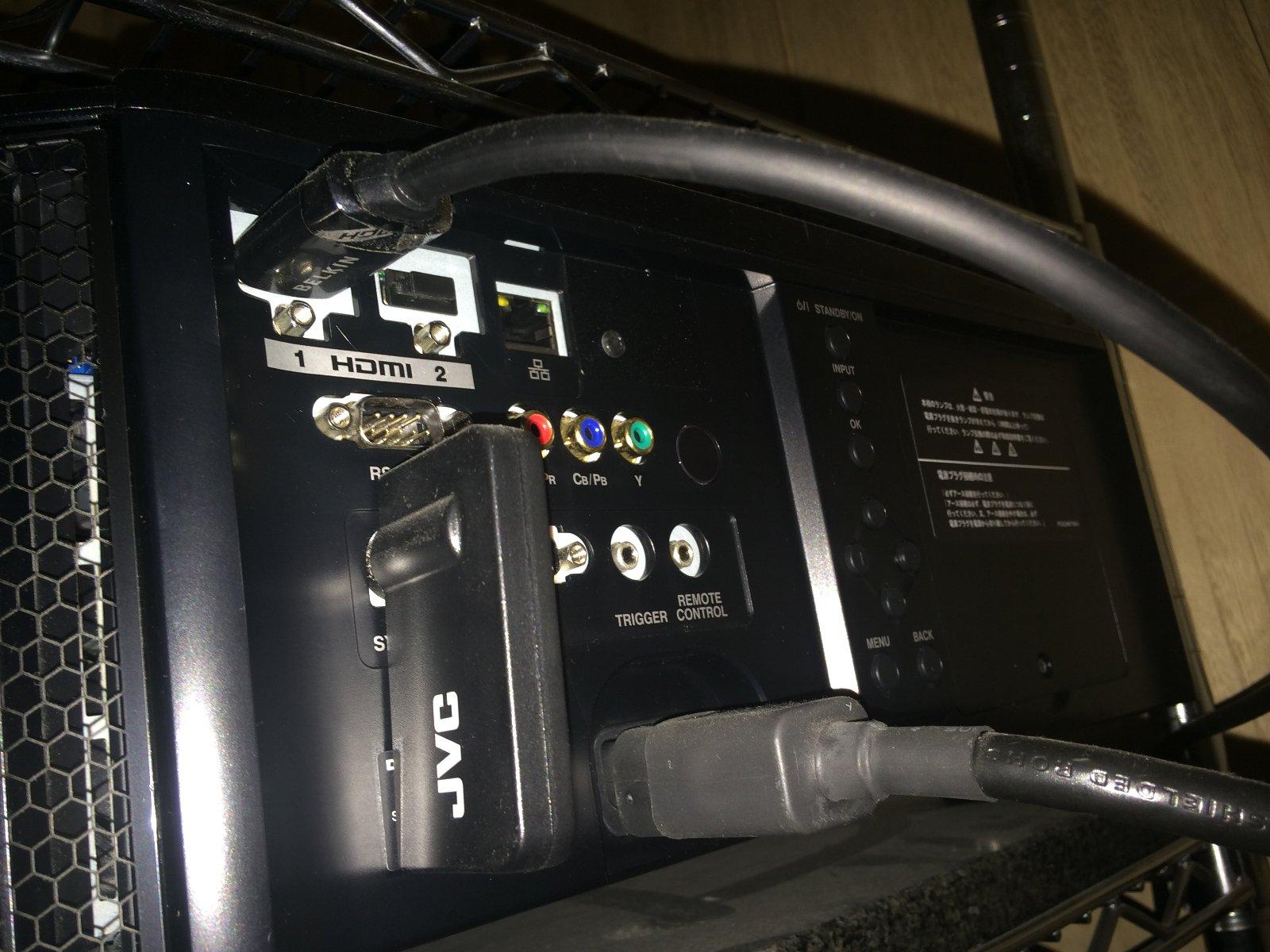 DLA-X75R 04 端子部