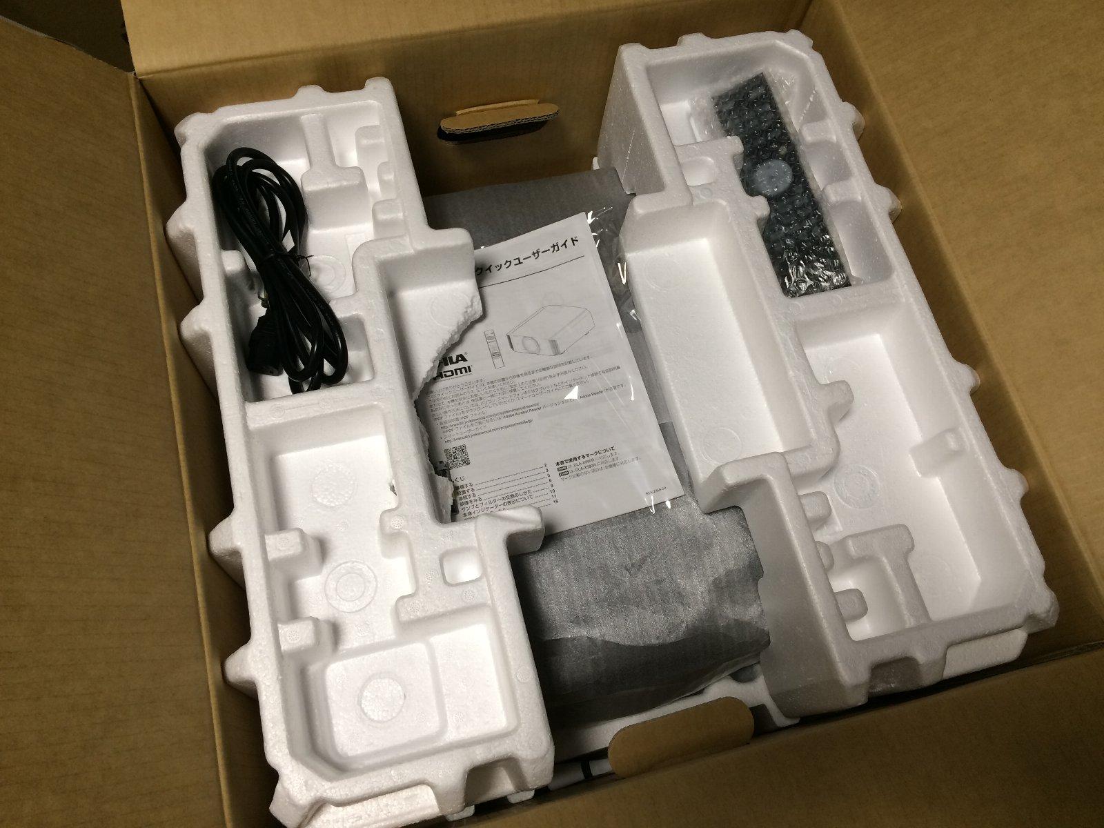 DLA-X990R 03 開梱