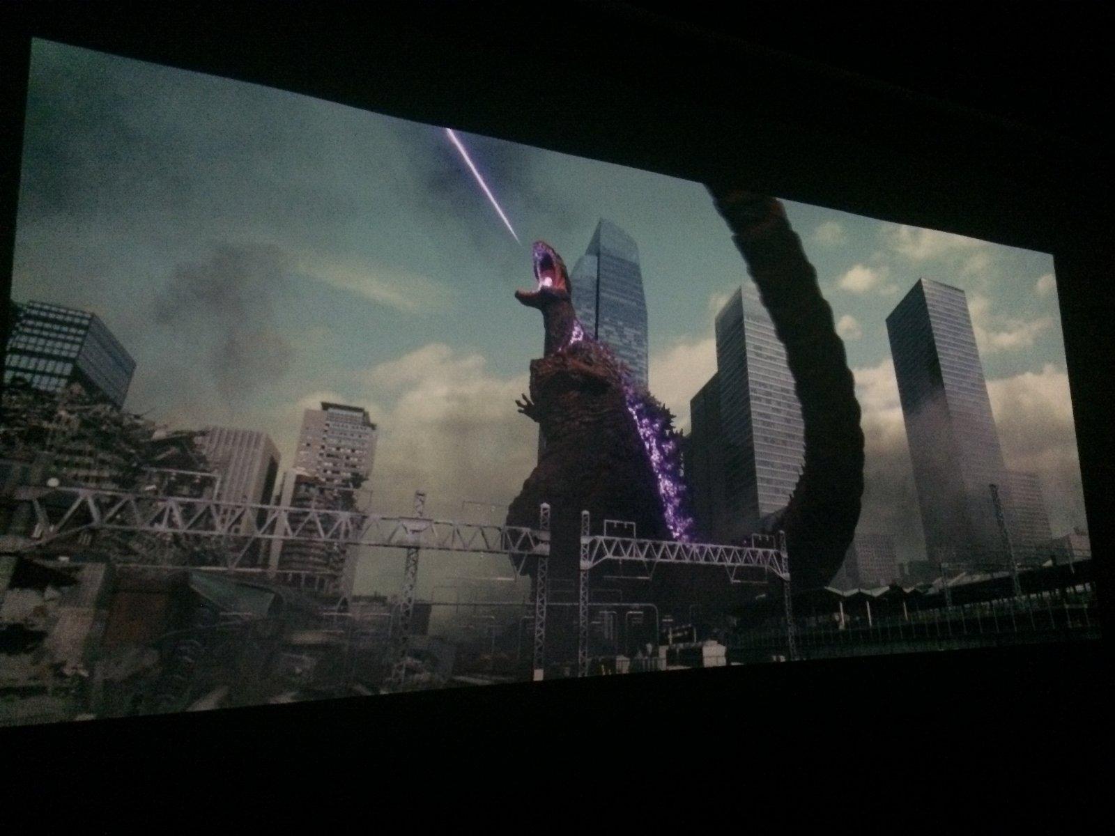 4K『シン・ゴジラ』ヤシオリ作戦