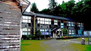 木造校舎(イメージ)