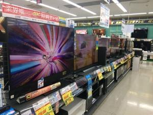 Y電機 テレビ売り場