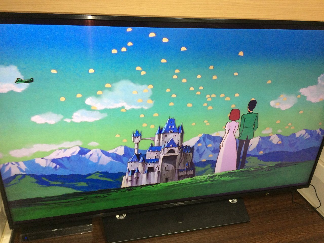 4K-UHD BD『カリオストロの城』別れ