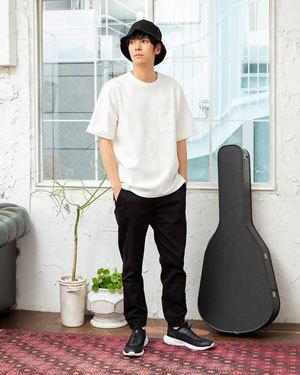 2019夏 ホワイト 白 爽やかメンズコーディネート2