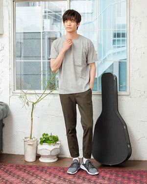 2019夏 Tシャツコーディネート 参考 メンズファッション2