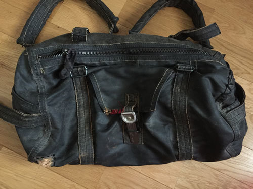マグナ250 サイドステー取付日記 サイドバッグ