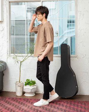 2019年夏メンズファッションTシャツコーディネート3