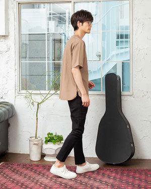 2019年夏メンズファッションTシャツコーディネート4