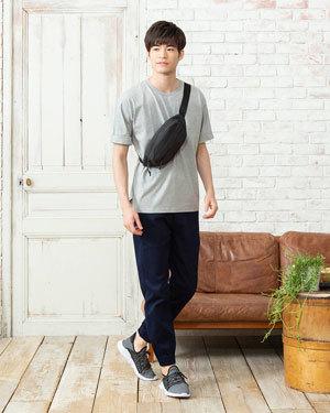 2019夏シンプルコーデ人気メンズファッションコーディネート4