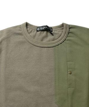 ポケットTシャツ 2019メンズファッション サイドスリット