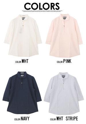 パナマ織り プルオーバーシャツ メンズ 2019夏3