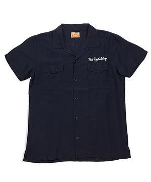 京都 染め オープンカラーシャツ TMT メンズ1
