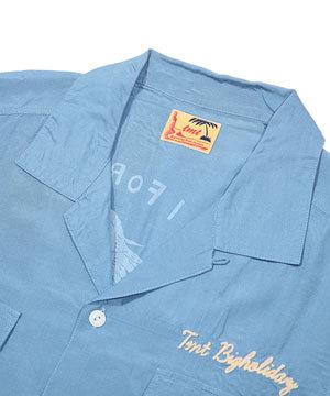 京都 染め オープンカラーシャツ TMT メンズ3
