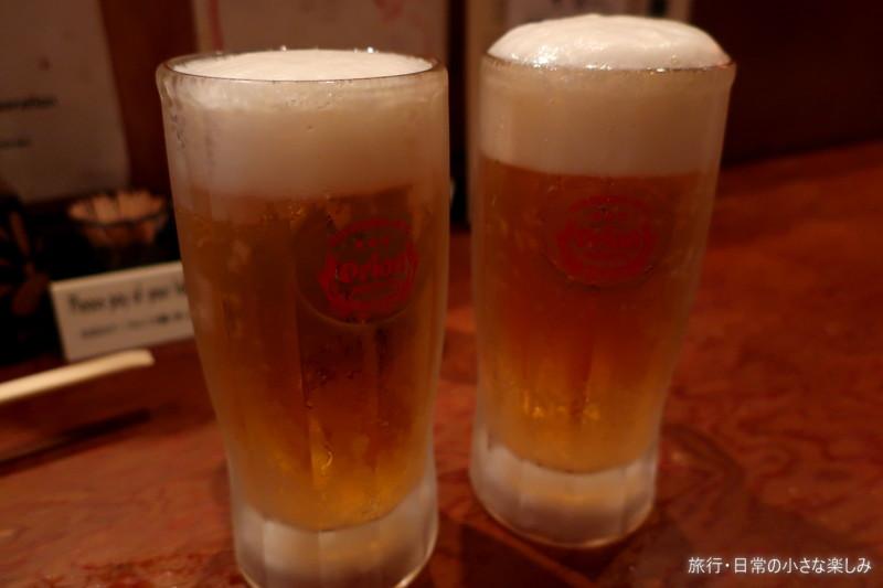 吉崎食堂 沖縄家庭料理 オリオンビール
