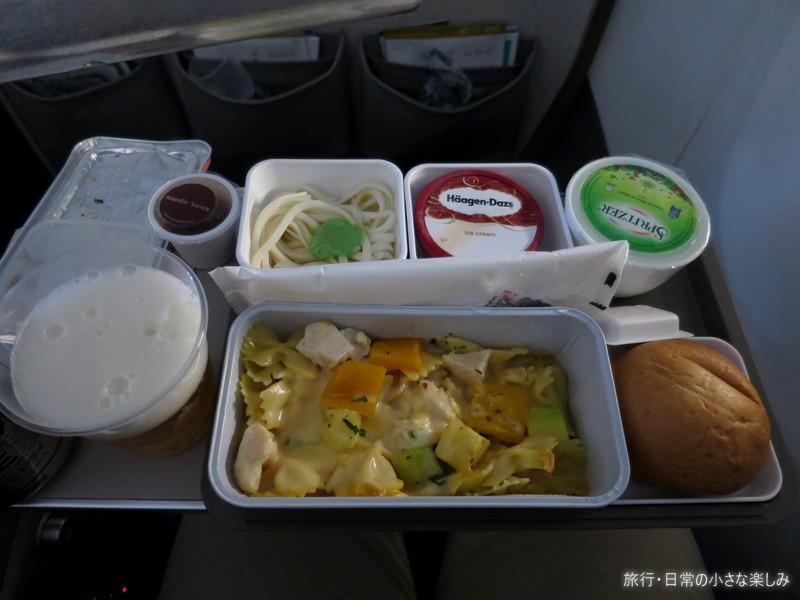 CX506 機内食 香港 関西