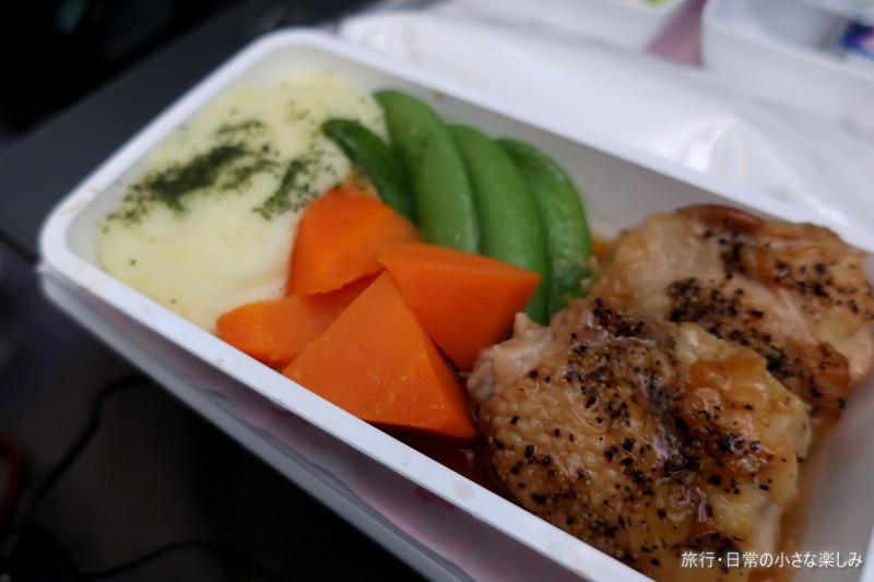 シンガポール航空 SQ619 機内食