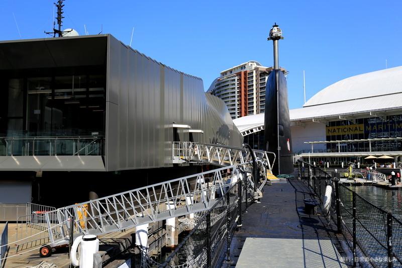 潜水艦オンスロー オーストラリア国立海洋博物館 見学