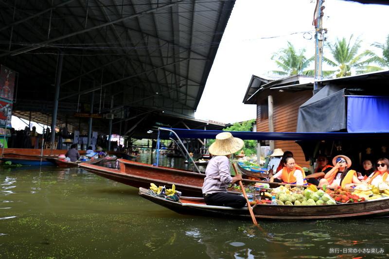 タイ 水上マーケット