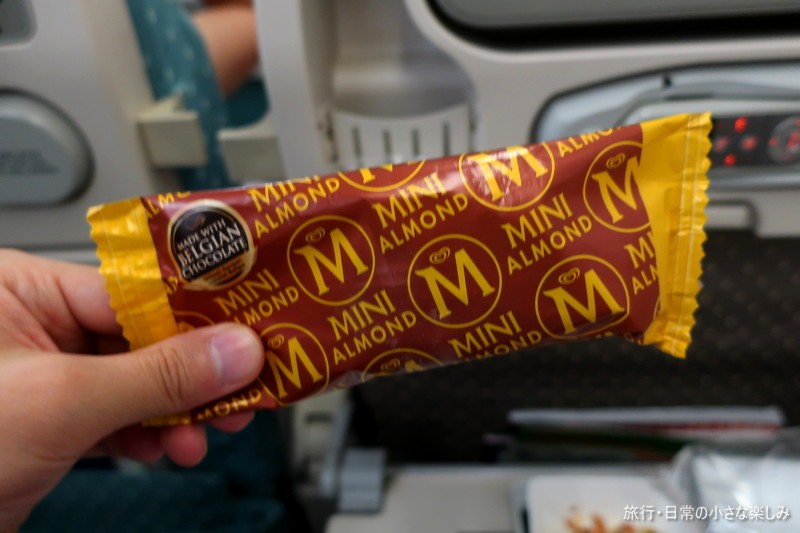 SQ620 シンガポール航空 機内食 朝食