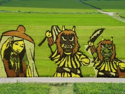 田んぼアート2