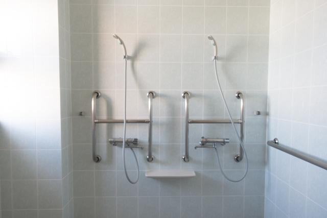シャワー室の中の写真